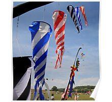 Twirling kites Poster
