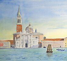 San Giorgio Maggiore by Nick Clark by HurstPainters