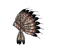 Native American Headdress Photographic Print