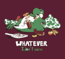 Whatever I don't Care Yoshi by pierceistruth