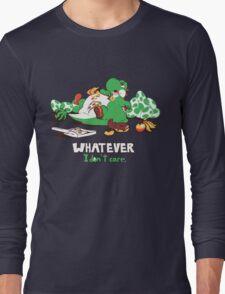 Whatever I don't Care Yoshi Long Sleeve T-Shirt