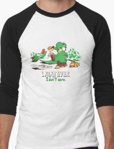 Whatever I don't Care Yoshi Men's Baseball ¾ T-Shirt