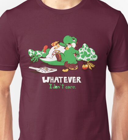 Whatever I don't Care Yoshi Unisex T-Shirt