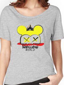 Hollow World Logo  Women's Relaxed Fit T-Shirt