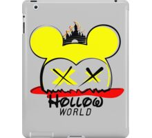 Hollow World Logo  iPad Case/Skin