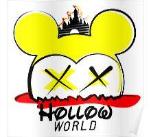 Hollow World Logo  Poster