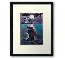 Midnight Meeting Framed Print