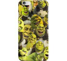 Shrek Collage  iPhone Case/Skin