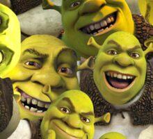 Shrek Collage  Sticker