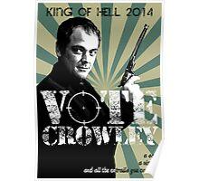 Vote Crowley Poster