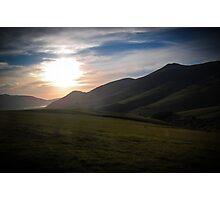 Skiddaw Sunset Photographic Print