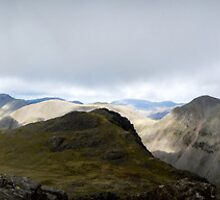 Scafell Pike Panorama  by PDHaslam