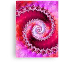 Strawberry Swirl Canvas Print