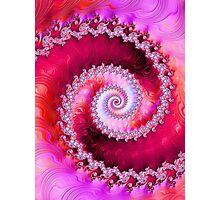 Strawberry Swirl Photographic Print