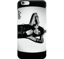 Lights Poxleitner Black And White Portrait  iPhone Case/Skin