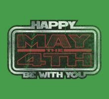 Happy May the 4th! (Grunge) Kids Clothes