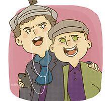 Ben & Martin by Oochami