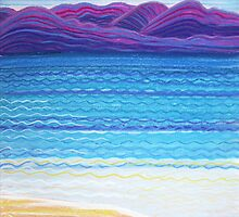 Perfect Pastels - At the shacks by Georgie Sharp