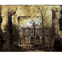 Haunted House on the Hill Photographic Print