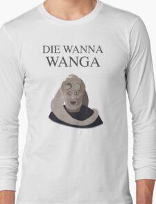 Bib Fortuna: Die Wanna Wanga: Black Version Long Sleeve T-Shirt