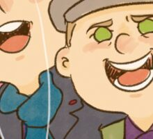 Ben & Martin Sticker