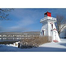 Annapolis Royal Lighthouse Photographic Print