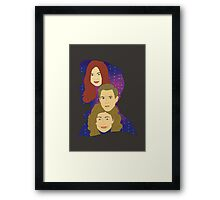 Space Can't Outshine You Framed Print