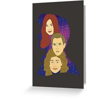 Space Can't Outshine You Greeting Card