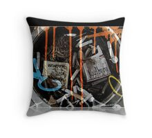 Life... Outside of MadLab Throw Pillow