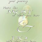 Make the Most of Your Journey © Vicki Ferrari by Vicki Ferrari