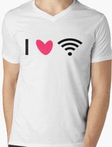 Love Wi-Fi Mens V-Neck T-Shirt