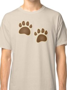 Bear paw prints Classic T-Shirt