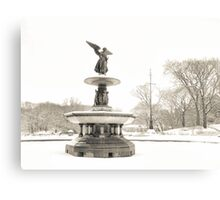 Angel of the Waters - Bethesda Fountain - Central Park Canvas Print
