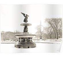 Angel of the Waters - Bethesda Fountain - Central Park Poster