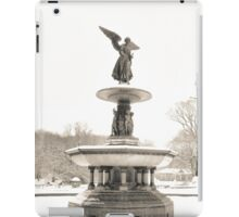 Angel of the Waters - Bethesda Fountain - Central Park iPad Case/Skin