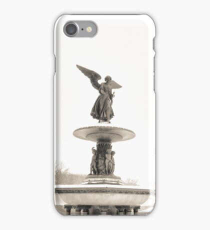 Angel of the Waters - Bethesda Fountain - Central Park iPhone Case/Skin