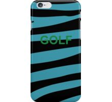 Golf Wang Tiger Case iPhone Case/Skin
