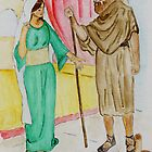 Elisha and the Shunammite Woman  ..  2 Kings 4:8-37 by Anne Gitto