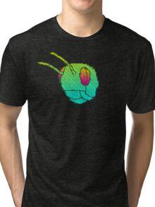 MASK WEARIN' DRILLER KILLER Tri-blend T-Shirt