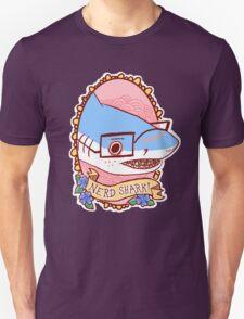 Nerd Shark Unisex T-Shirt