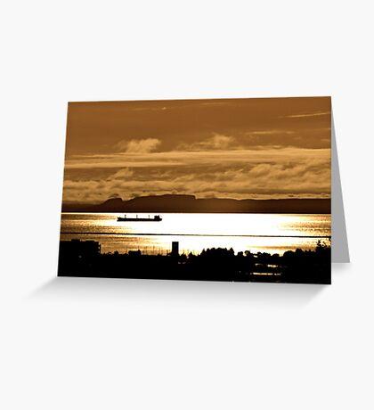 The Sleeping Giant Thunder Bay Greeting Card