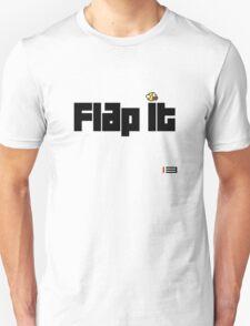 """Flappy Bird Shirt """"Flap It"""" Unisex T-Shirt"""