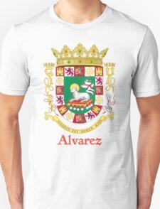 Alvarez Shield of Puerto Rico T-Shirt