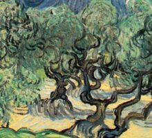 Vincent Van Gogh - Olive Trees with the Alpilles Sticker
