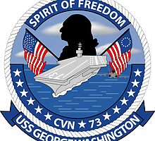 USS George Washington - CVN 73 - Spirit Of Freedom by VeteranGraphics