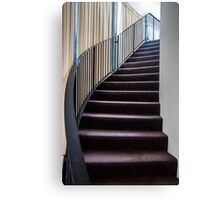 Curved Stair. Canvas Print