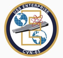 "USS Enterprise - CVN 65 - ""The Big E"" by VeteranGraphics"