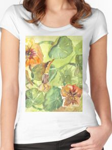 My Flowers and I Women's Fitted Scoop T-Shirt