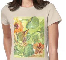 My Flowers and I Womens Fitted T-Shirt