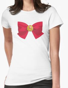 Sailor Moon - Brooch/Ribbon Womens Fitted T-Shirt